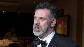 Michael Redhill has won the $100,000 Scotiabank Giller Prize for his novel ?Bellevue Square,? about a woman on the hunt for her doppelganger. The Toronto author says it would have been foolish to imagine he could win the award. (The Canadian Press)0