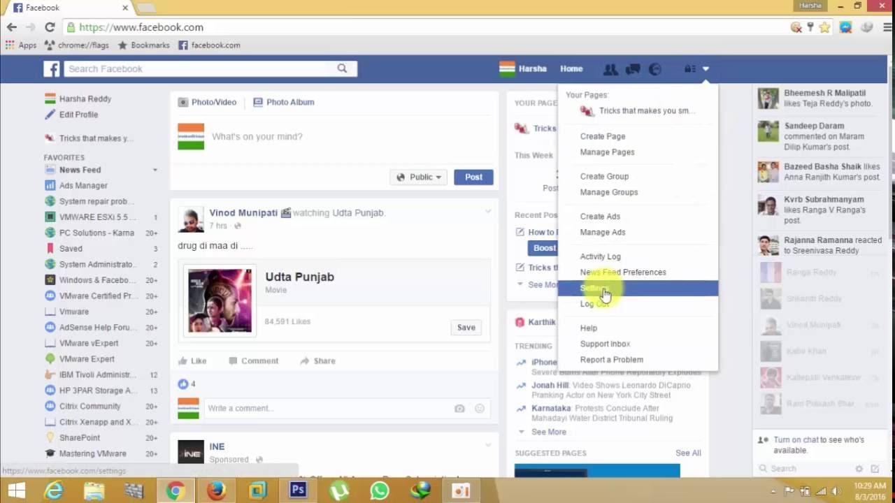 facebook notifications on mac chrome