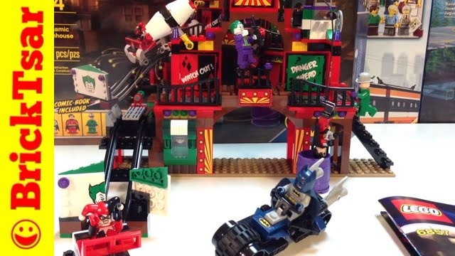 LEGO Batman 6857 Dynamic Duo Funhouse Escape DC Comics ...
