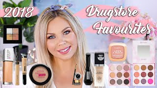 THE BEST DRUGSTORE MAKEUP FROM 2018!