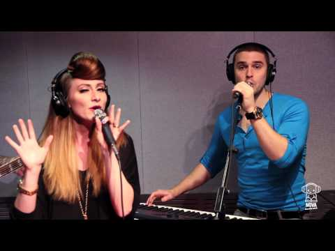 """Karmin perform """"Hello"""" Acoustic Live in Smallzy's Surgery on Nova FM"""