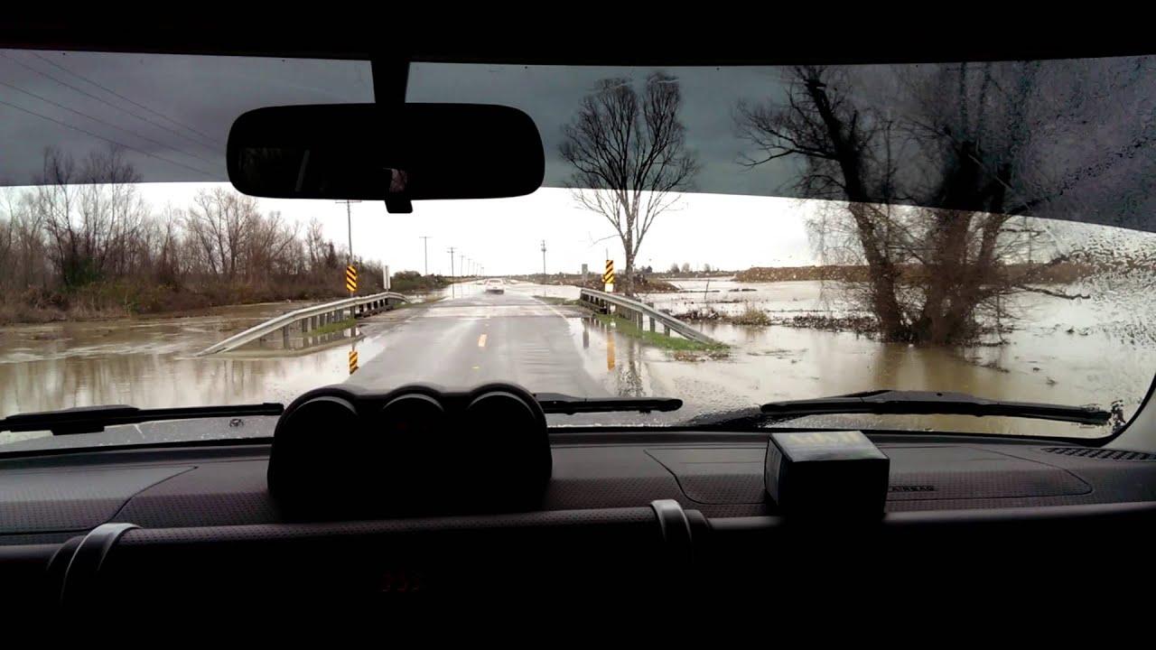 Flooding Road Outside Stuttgart Youtube