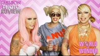 RuPaul's Drag Race Fashion Photo RuView with Raja & Raven feat Alaska Thunderfuck - #WayBackWHENsday