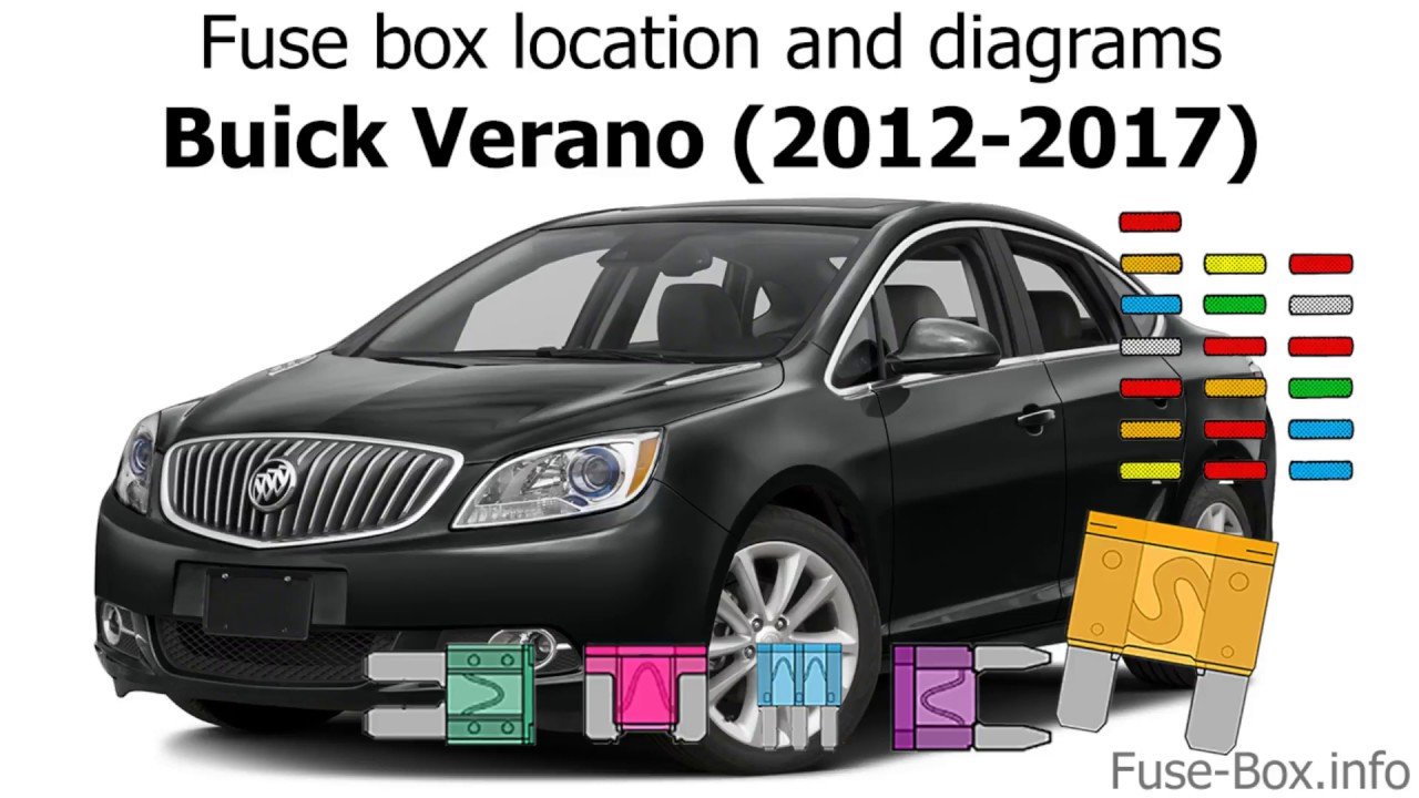 Fuse Box Location And Diagrams  Buick Verano  2012
