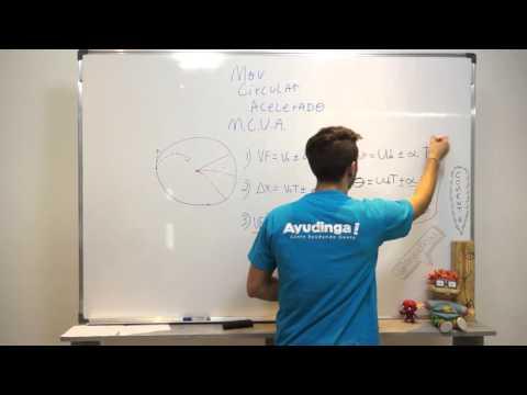 Movimiento Circular Uniformemente Acelerado - Teoría y Ejemplo #1