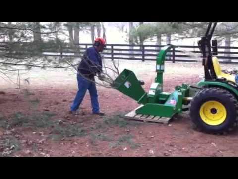 Wallenstein Bx 42 Wood Chipper Youtube