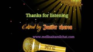Aadaludan Paadalai Kettu Karaoke For Male Singers By Jenifer Sharon