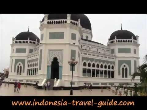 Medan Tourism -  The Great Mosque -  North Sumatra Tourism -  Indonesia Tourism