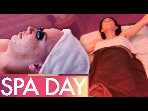 Girls' Spa Day PALM SPRINGS!  (Beauty Trippin)