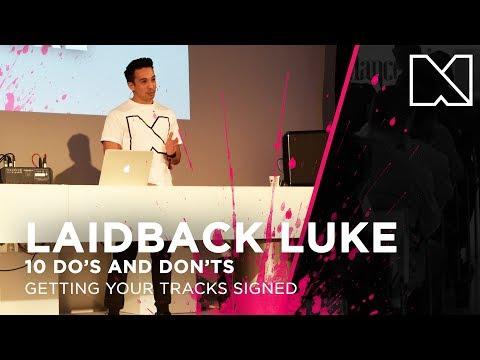 Laidback Luke @ Dancefair 2017 | Getting Your Tracks Signed