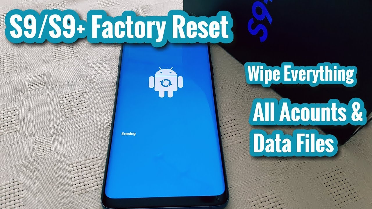 Samsung Galaxy S25/S25+ Factory ResetWipe Device Clean