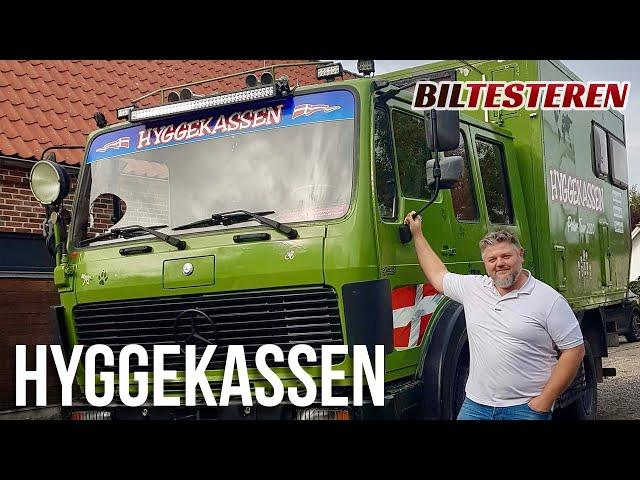 Ombygget brandbil - nu som camper! Hyggekassen (hyggevideo)