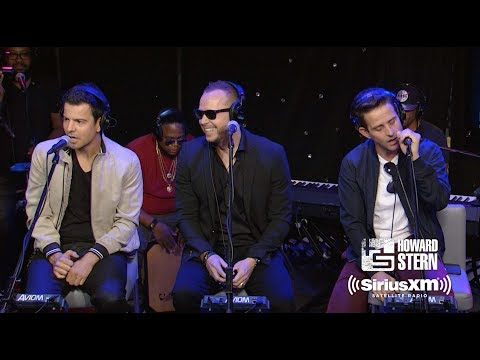"New Kids on the Block ""You Got It (The Right Stuff)"" Live on the Howard Stern Show"