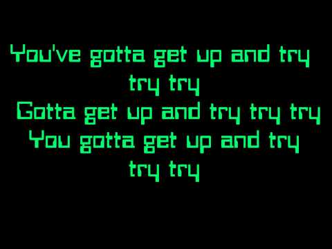P!nk- Try Lyrics