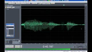 Cómo grabar sonido en la computadora parte 1 - Edición digital de audio