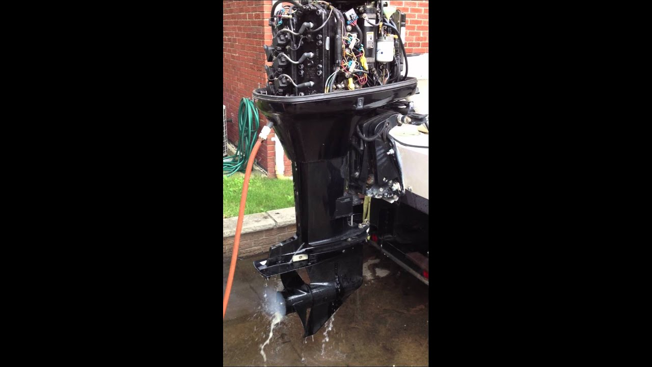 2001 mercury 200 hp outboard motor with 25in shaft [ 1280 x 720 Pixel ]