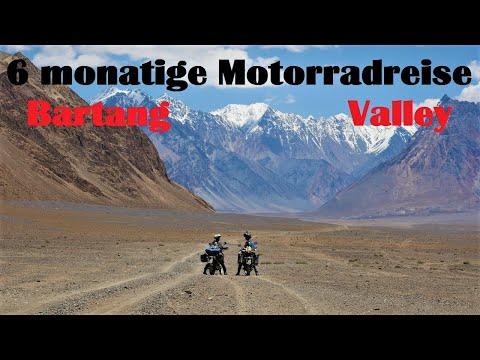 6 - monatige Motorradreise durch Zentralasien Folge 11 Bartang Valley