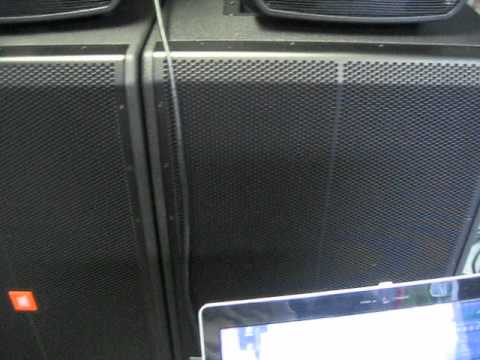 Niobi Audio Testing New JBL SRX728S Subs And Alto Powered Speakers