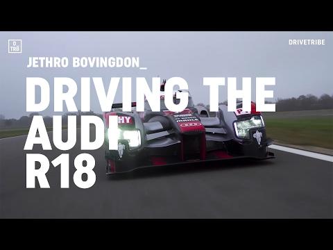 Driving Audi
