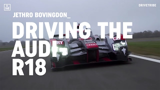 Driving Audi's 1000bhp R18 LMP1 race car
