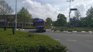P1 Brandweer Sommelsdijk/Middelharnis (OLYMPIA) onderweg naar assistentie ambulance! 17-4531 PRIO-1