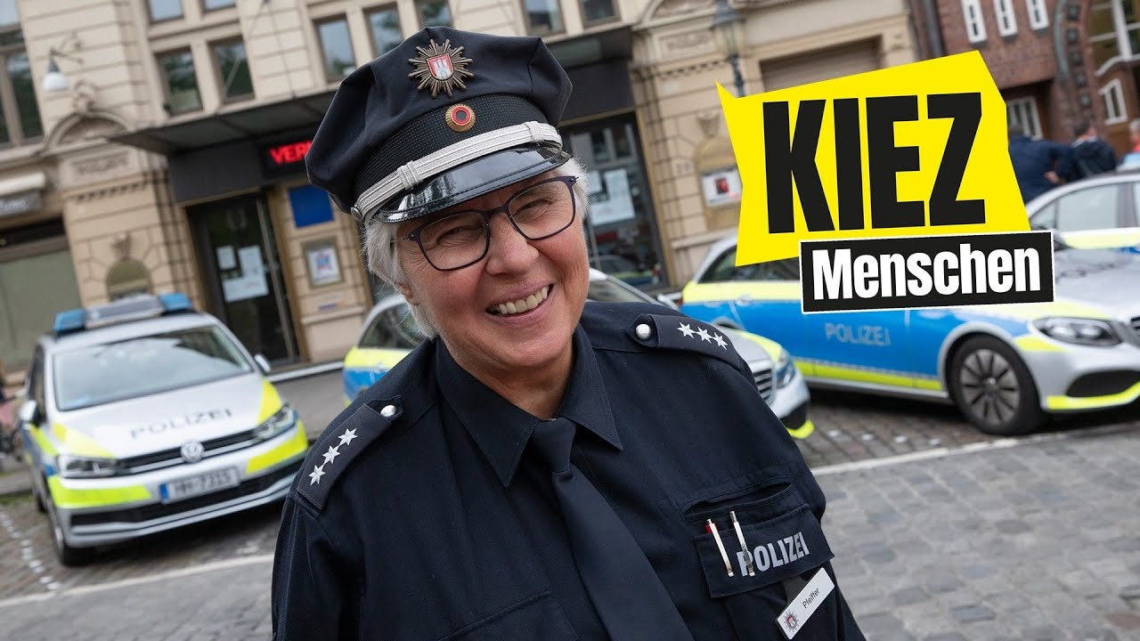 Kiez Menschen: Auf Streife mit Margot Pfeifer - Polizistein zeigt uns ihren Kiez