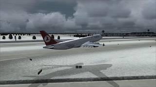 TURKISH A330 crash at Munich