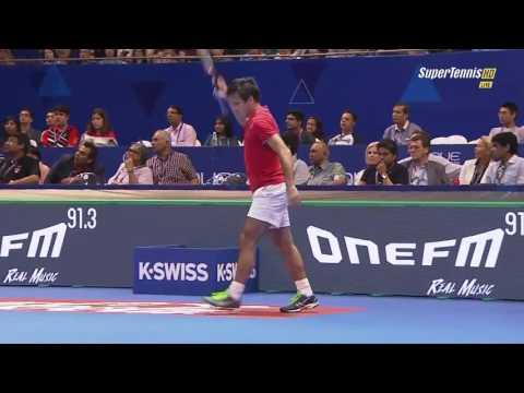 Carlos Moya vs Fabrice Santoro FINAL FULL MATCH HD IPTL Singapore 2015