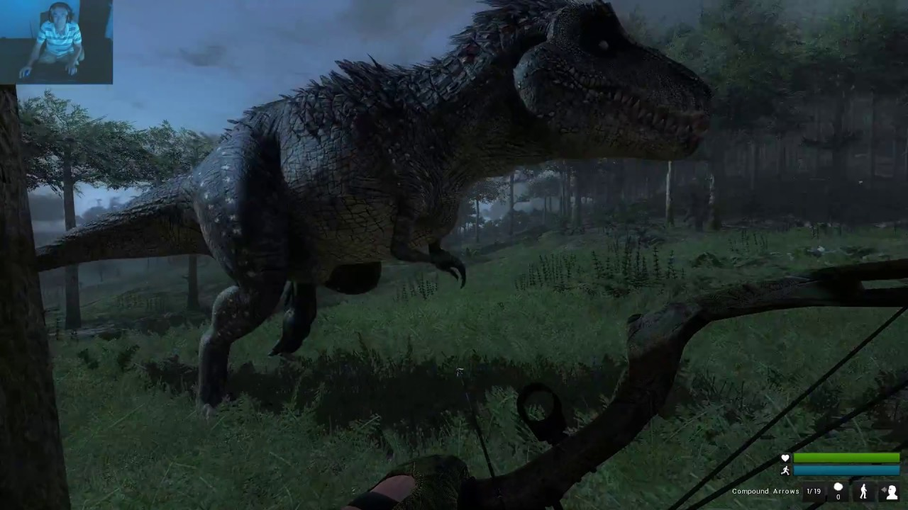 theHunter:Primal -- Lots of T-Rex Kills and Me Dead Too ...