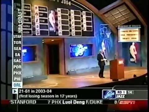 Kris Humphries - 2004 NBA Draft - Pick #14