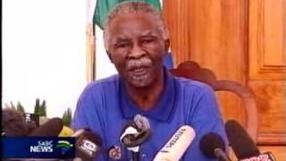 Mbeki asks for evidence over Heath allegations