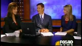 KTXL FOX 40 Morning News old open: 7/4/2008