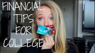 Managing Money in College ~ Budgeting, Credit Cards, Loans & more!