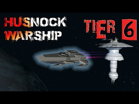 Husnock Warship [T6] – with all ship visuals - Star Trek Online