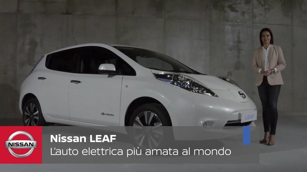 Nissan Leaf L Auto Elettrica Più Amata Al Mondo