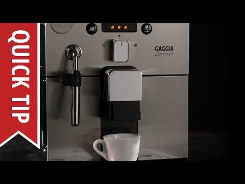 espresso machines also feature easily removable