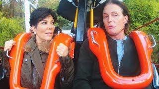 Kris & Bruce Argue Over Kendall Jenner On A Roller Coaster