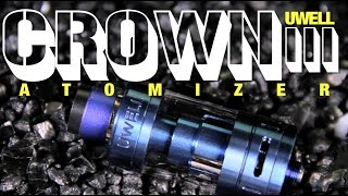 New CROWN III Atomizer by UWELL ~Subohm Tank Review~