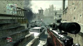 """MW3 Throwing Knife Montage """"Outrage"""" by Virtual"""