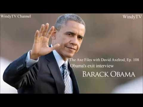 The Axe Files with David Axelrod Ep. 108 - President Barack Obama