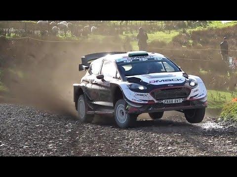Wales Rally GB 2017   Elfyn Evans Stunning Drive!  WRC