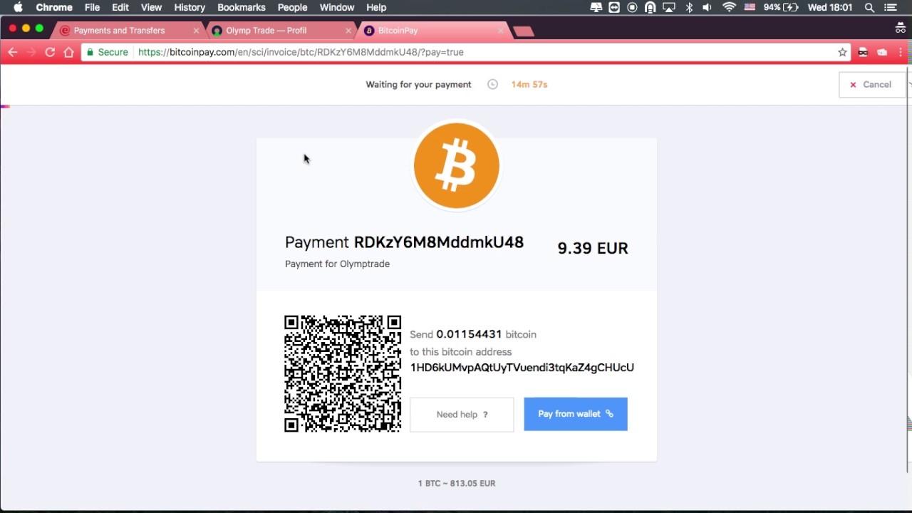cara invest olymp trade menggunakan bitcoin bitcoin usd šiandien