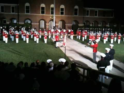 USMC Band - Battle Hymn of the Republic.MOV