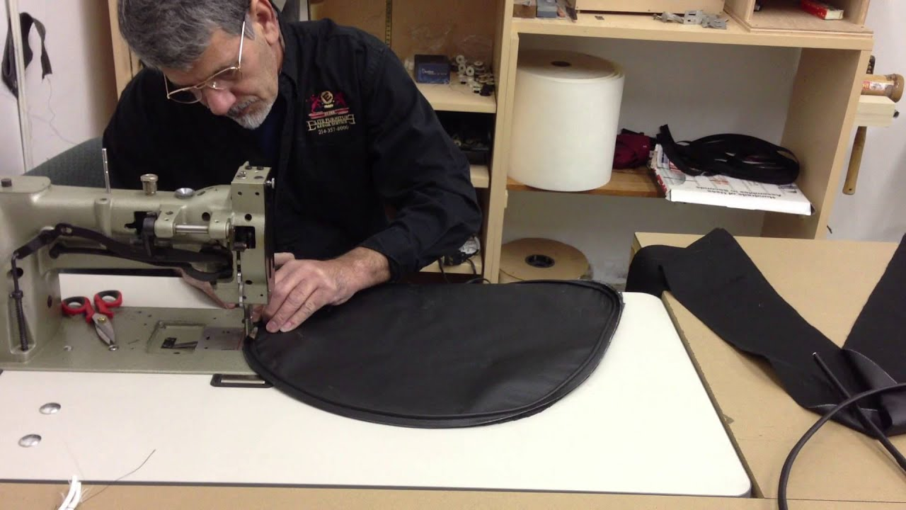 How to sew a box seat for a chair youtube jeuxipadfo Choice Image