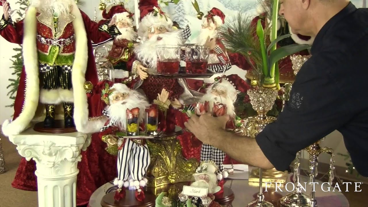 holiday party ideas with mark roberts frontgate exclusive youtube
