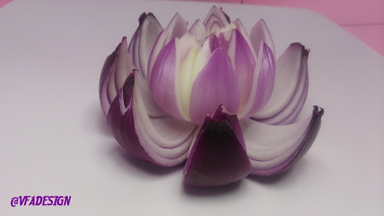 Benefits of raw onions health tips artistic in red onion lotus benefits of raw onions health tips artistic in red onion lotus flower carving garnish izmirmasajfo