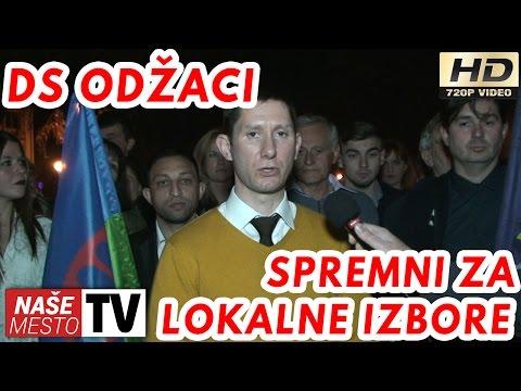 Demokratska stranka Odžaci predala listu za LOKALNE IZBORE - 05.04.2017.