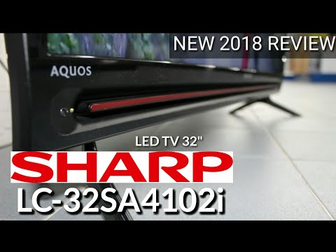 REVIEW LED TV SHARP LC 32SA4102i NEW 2018 indonesia HD