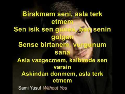 Sami Yusuf Never never with Lyric