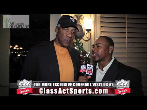 Dr. J Julius Erving Exclusive Interview w/ Class Act Sports (Art of the Olympians) December 2012